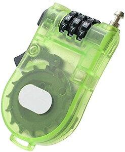 ハンディワイヤーロック ダイヤルロック 暗証番号 カギ 旅行 便利用品 防犯対策 トラベル TG100(グリーン)