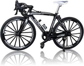 morytrade 自転車 おもちゃ ロードバイク 模型 ダイキャストかー 1/10 ロードレーサー(黒)