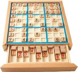 木製 ナンバープレース 数独 ナンプレ 知育玩具 脳トレ
