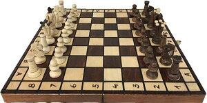 世界最高峰 ポーランド Wegiel製 ハンドメイド・チェスセット Chess Royal / King's 36 ロイヤル36日本正規品