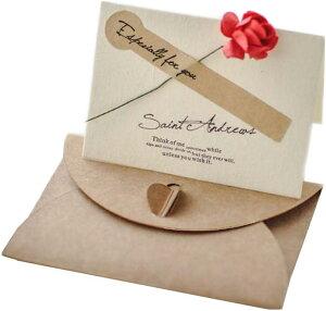 メッセージ カード 30枚セット 封筒 メッセージカード 席札 結婚式 テーブル MDM