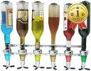 セントアイランド 壁掛け 式 ワンショット メジャー ラック ボトル タイプ リキュール カクテル ウイスキー 調節 機械…