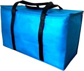 保冷バッグ エコバッグ ショッピングバッグ 買い物バッグ 折りたたみ マイバッグ 大容量 防水(ブルー)