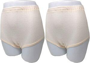 失禁ショーツ 尿漏れ パンツ 女性用 2枚組 20cc 軽失禁 消臭 綿100%(S)
