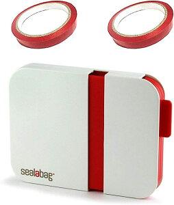Ajicai シーラー 機 家庭用 ハンディ バック テープ 鮮度 しっかり 密封 テープ2本付き