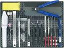 プラモデル工具セット ガンプラ工具 模型工具 プラモ工具 クラフトツール 23種類(BK)