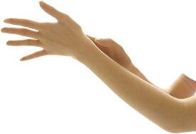 エレクトリックサーカス ストッキング ロング 手袋 2双 セット セクシー アーム カバー シースルー グローブ 格好いい 可愛い お洒落 人気 お勧め 安い プレゼント コスチューム パンスト エロ 大人(ベージュ, Free Size)