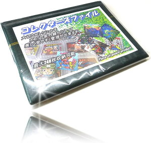 チョコシール コレクターズ ファイル コレクション バインダー(グリーン)
