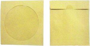 cd ペーパー スリーブ ケース dvd 収納 大容量 クラフト 紙 200枚(クラフト 紙 200枚)