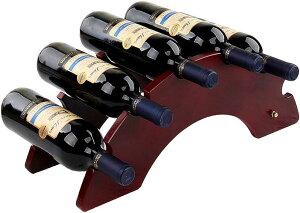 木製 ワインラック ワインホルダー 収納 シャンパン ボトル ウッド ケース スタンド インテリア W085(Cタイプ)