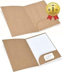個別フォルダー ファイルケース A4 クラフト紙 セット 持ち運び 書類入れ(10枚セット)