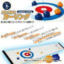 送料無料 華麗なショット技を繰り出そう!Compact Curling (コンパクトカーリング) パーティー ゲーム