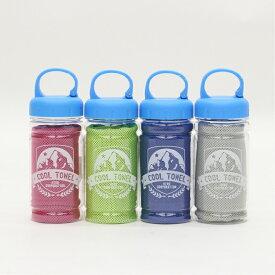 4個セット ボトル入りクールタオル DLLGMJ20017