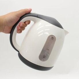 送料無料 飲む時だけ、必要な時だけ沸かすエコスタイル。コンパクトケトル 1.7L KTK-350 エコ 湯沸かし キッチン家電 キッチン 台所 コードレス 空焚き防止 便利