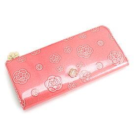 展示品箱なし クレイサス 財布 長財布 L字ファスナー 薄ピンク系 CLATHAS 184681-35 レディース 婦人