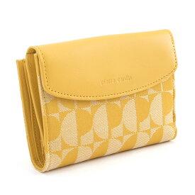 ピエールカルダン 財布 二つ折り財布 イエロー Pierre Cardin pck004-49 レディース 婦人