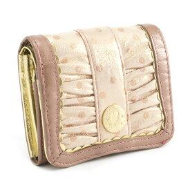 展示品箱なし クリスタルボール 財布 二つ折り財布 ピンク Crystal Ball cbk222-24 レディース 婦人