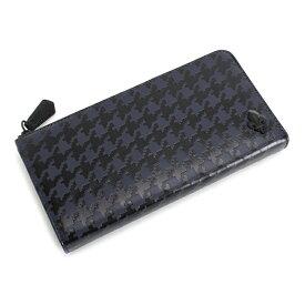 展示品箱なし パトリックコックス 財布 長財布 L字ファスナー ネイビー PATRICK COX pxmw5tt20 メンズ 紳士