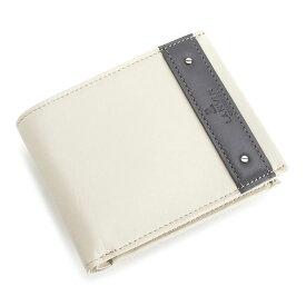 ランバンコレクション 財布 二つ折り財布 アイボリー LANVINcollection 288634 メンズ 紳士