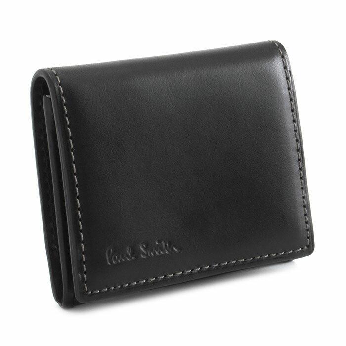 ポールスミス 財布 小銭入れ コインケース 黒 Paul Smith psk900-10 ブランド メンズ 紳士