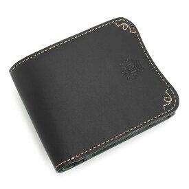 ニューヨーカー 財布 二つ折り財布 黒(ブラック) NEWYORKER nyk363-10 メンズ 紳士