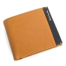 db1d61144993 クーポン配布中>展示品箱なし ポールスミス 財布 二つ折り財布 オレンジ