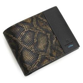 ランバンオンブルー 財布 二つ折り財布 ゴールド LANVIN en Bleu 567613 メンズ 紳士 【送料無料】