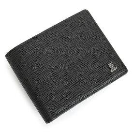 ランバンコレクション 財布 二つ折り財布 黒(ブラック) LANVIN collection jlmw6ps2-10 メンズ 紳士 【送料無料】