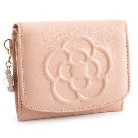 クレイサス 財布 二つ折り財布 ピンク CLATHAS 185435-33 レディース 婦人 【送料無料】