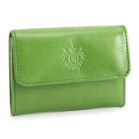 展示品箱なし ニューヨーカー カードケース 小銭入れ コインケース 緑(グリーン) NEWYORKER nyk404-50 メンズ 紳士 【送料無料】