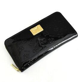 訳あり リズリサ 財布 長財布 ラウンドファスナー 黒(ブラック) LIZ LISA 64074-10 b レディース 婦人