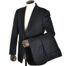 展示品 バーバリーブラックレーベル スーツ 40Lサイズ ストライプスーツ BURBERRY BLACK LABEL 黒(ブラック) bmd18706-09 メンズ 紳士