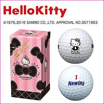【HelloKitty】ハローキティ ゴルフボール G8J16Zブリジストンゴルフ BRIDGEDTONE GOLF レディース2個入り ニューイング キティちゃん日本正規品あす楽【ゴルフ】