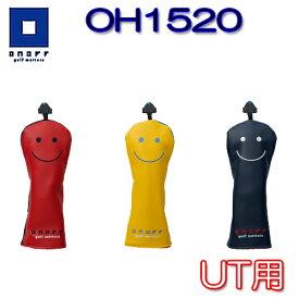 ユニセックスモデル【2020モデル】OH1520 UT用ヘッドカバーオノフ ONOFF グローブライドユーティリティ用 取替式番手バッジ(3, 4, 5, 6, 7, X)付き合成皮革(PU)レディース メンズ【ゴルフ】