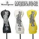 【UT用 ヘッドカバー】メンズ MQBNJG422019春夏モデル Munsing wear マンシングウェアユーティリティ用合成皮革(PU)…