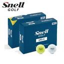 【2019NEWモデル】ゴルフボールSnell Golf ...