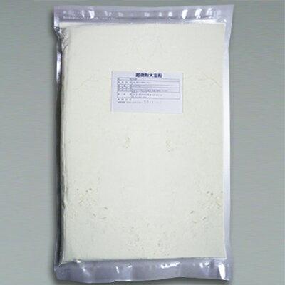 日本初のブランド大豆 珠美人100% 超微粉 大豆粉1kgチャック付き 国内加工