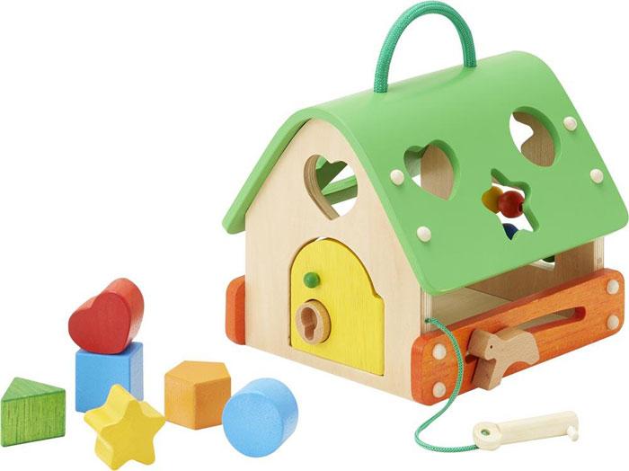 【送料無料!ポイント10倍!】森のあそび道具 あそびのおうち 【木製玩具 知育玩具 ベビートイ エドインター】