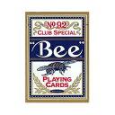 トランプカード ビーカード ポーカーサイズ (青/ブルー)