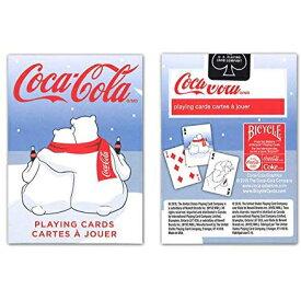 トランプカード バイスクル コカ・コーラ シロクママフラー BICYCLE Coca-Cola