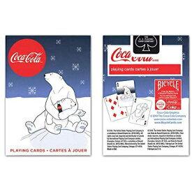 トランプカード バイスクル コカ・コーラ シロクマ親子 BICYCLE Coca-Cola
