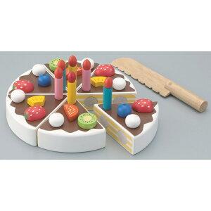【送料無料!ポイント10倍!】森のあそび道具 職人さんごっこたのしいケーキ職人 【木製玩具 知育玩具 ベビートイ おままごとセット エドインター】