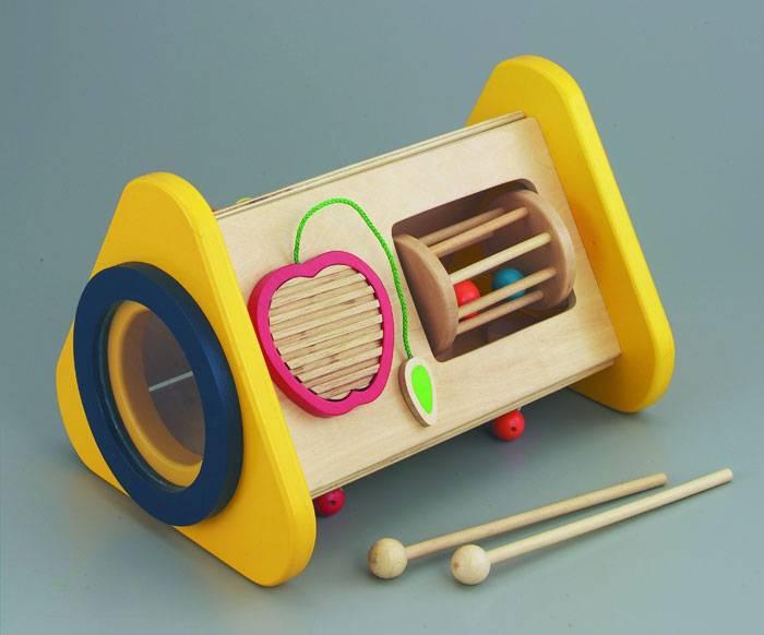 【送料無料!ポイント10倍!】森のあそび道具 森の音楽会 【木製玩具 知育玩具 ベビートイ エドインター】
