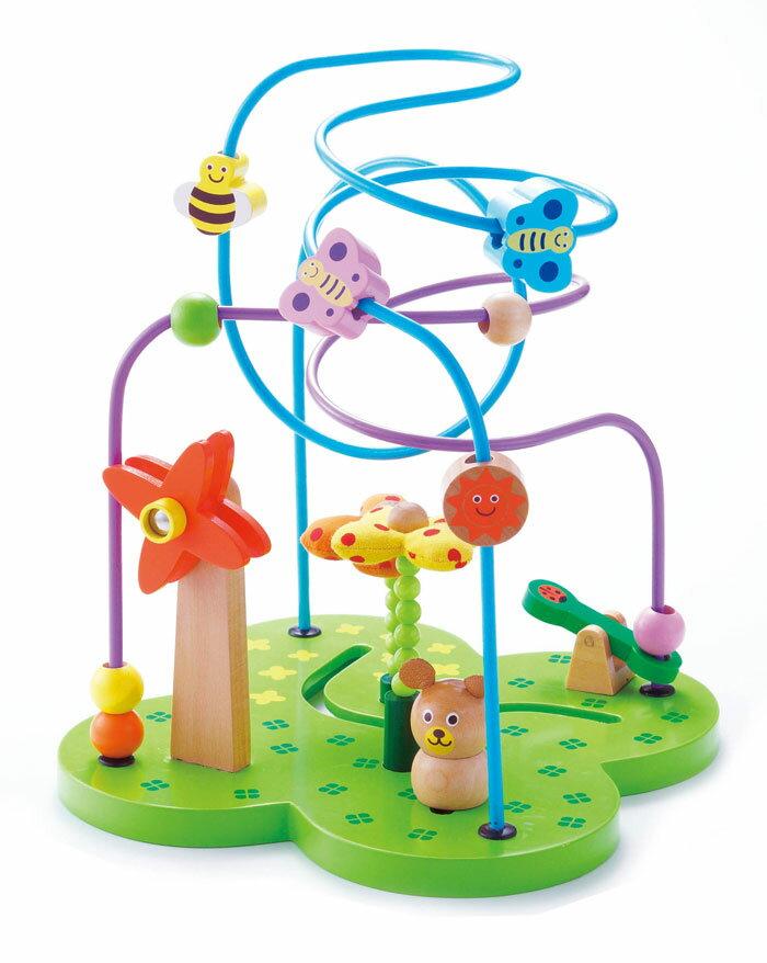【送料無料!ポイント10倍!】森のあそび道具 おさんぽくまさん 【木製玩具 知育玩具 ベビートイ エドインター】