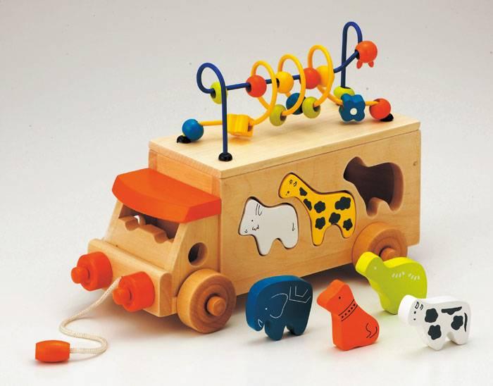 【送料無料!ポイント10倍!】森のあそび道具 アニマルビーズバス 【木製玩具 知育玩具 ベビートイ エドインター】