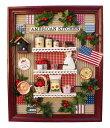 【全品ポイント増量!】ビリーの手作りドールハウスキット 壁掛けナチュラルフレームキット「 アメリカンキッチン 」 …