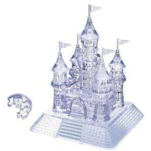 【全品ポイント増量!】 クリスタルパズル キャッスル 50115 【3Dジグソーパズル 立体パズル ビバリー】