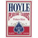 【全品ポイント増量中!】トランプカード ホイルカード ポーカーサイズ (赤/レッド) 【HOYLE 正規代理店仕入品 USプレイングカード社製】 【RCP】