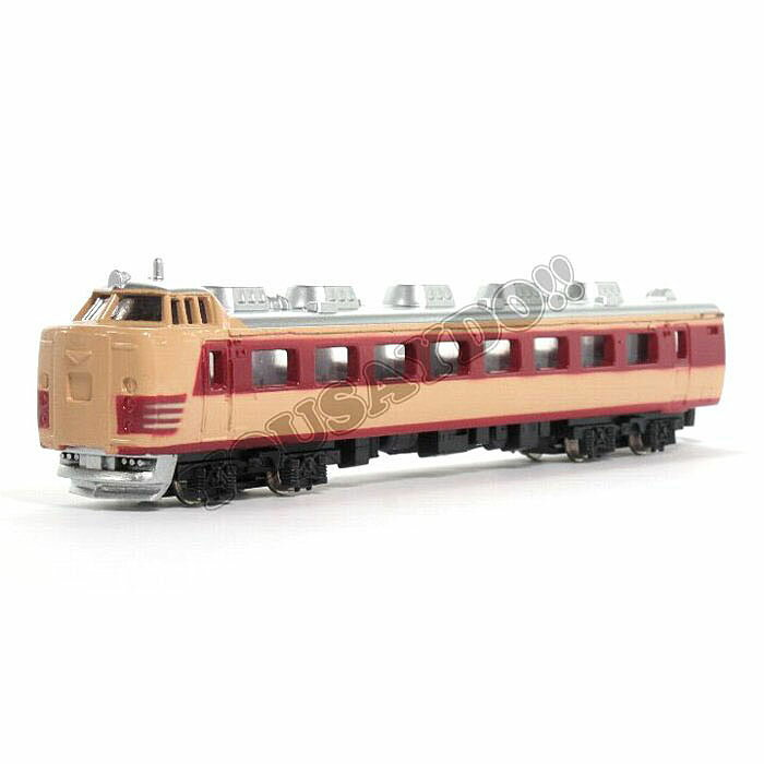 【全品ポイント増量!】トレーン No.3 485系特急電車 【Nゲージダイキャストスケールモデル 電車 鉄道模型】 【RCP】