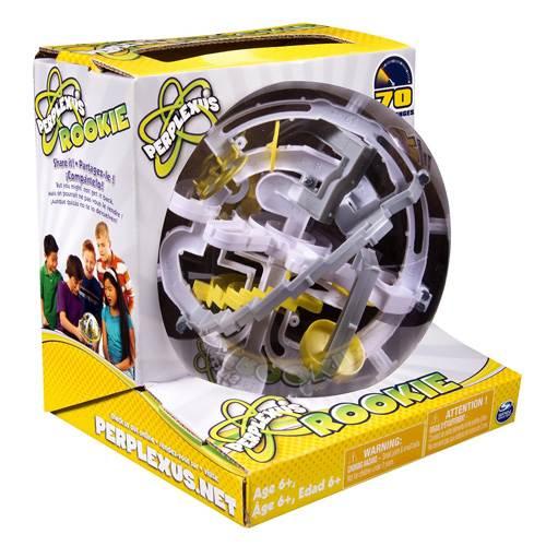【全品ポイント増量!】 パープレクサス ルーキー 【トリック数70個 ボール型立体パズル 球体型パズル 3D立体迷路 PERPLEXUS ROOKIE Spin Master OHSサプライ合同会社 正規輸入品】 【RCP】